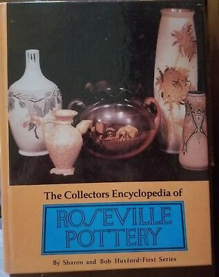 Collector's Encyclopedia of Roseville Pottery - Huxford hardcover1993