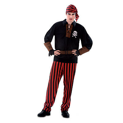 Adult Mens Pirate Swashbuckler Buccaneer Halloween Costume