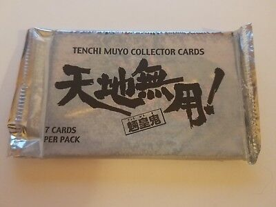 2x TENCHI MUYO ANIME CARDS BOOSTER PACK 2000 COMIC IMAGES Having a Baby Sale!