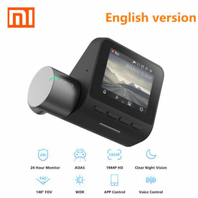 New Xiaomi 70mai Dash Cam Pro 1944P HD Car DVR Camera 140 Degrees WITHOUT GPS