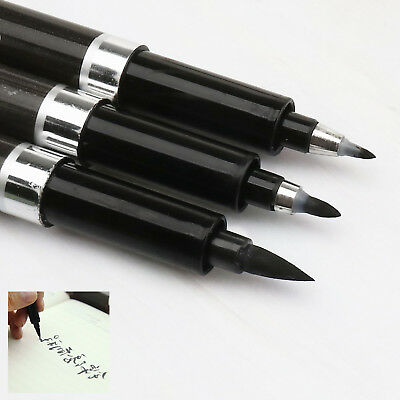 3 Pcs/Set Chinese Pen Calligraphy Writing Art Script Painting Tool Brush Ink Pen