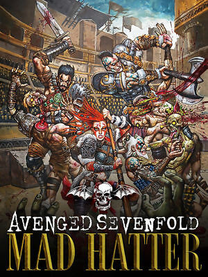 Y-244 Avenged Sevenfold Mad Hatter 27x40 24x36 Hot Poster COD Black Ops 4