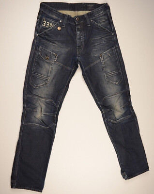 G-Star Jeans 'GENERAL 5620 TAPERED FORCE EMBRO' W31 L32 RRP $289 Men Boys