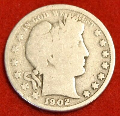 1902-P 50C Barber Half Dollar G Beautiful Coin Check Out Store Bh511