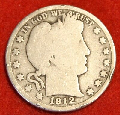 1912-P 50C Barber Half Dollar G Beautiful Coin Check Out Store Bh527