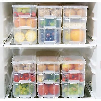 Kitchen Fridge Food Storage Container Organizer Holder Fruit Box