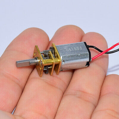 DC 3V-6V 40RPM Slow Speed Mini N20 Full Metal Gearbox Gear Motor DIY Robot Car