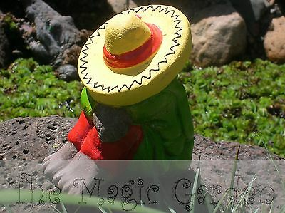 Sitting mexican concrete cement plaster garden ornament latex moulds molds