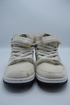buy popular 00b0b 0037c NIKE DUNK SB Mid Pro Tokyo Size 7 Canvas Denim Off White Air OG Skate  314383-111