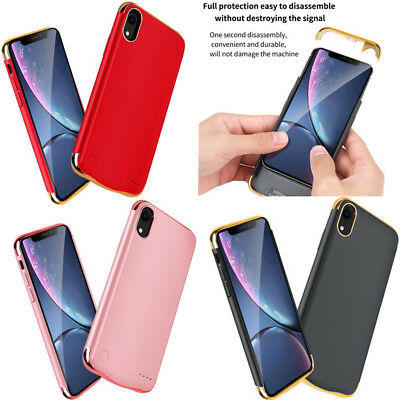 Battery Power Bank Portable Ultra Slim External Charger Case For iPhone X XS Max