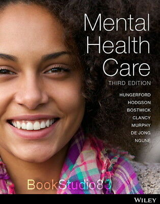 NEW Mental Health Care 3E Hungerford 3rd Print on Demand (Black & White) Edition