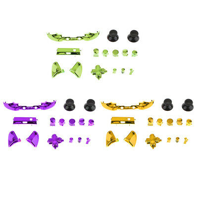 3Set Thumbstick Analog Stick Bullet ABXY Buttons for Xbox One S Controller