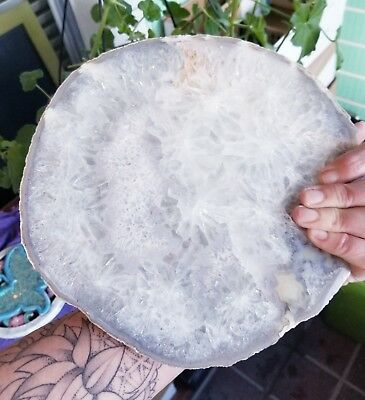 Large Agate Thick Slab
