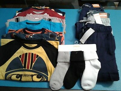 Nwt $370 Rv Gymboree  Boys Size 4 - 4T 16 Pcs  Lot Outfits  Fall Winter