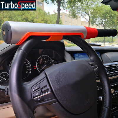 Anti Theft Steering Wheel Lock Baseball Bat Type Security Device  Universal