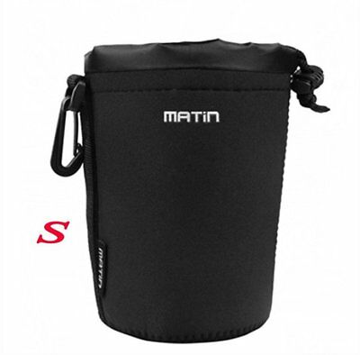 Matin Camera Lens Bag Pouch - Small Hot Neoprene Soft DSLR
