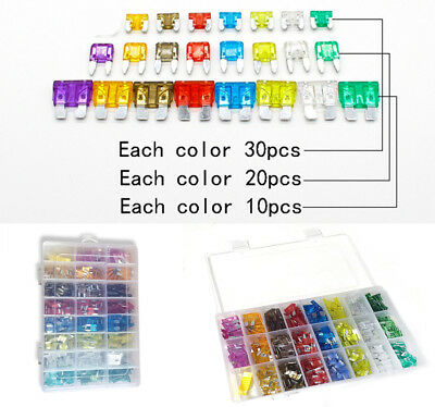 450pcs High Quality durable mini Auto Automotive Car Boat Truck Blade Fuse Box