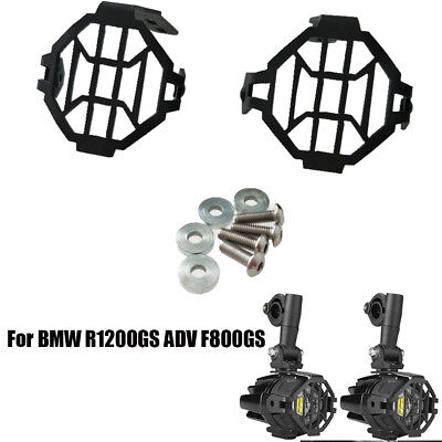 Black Fog Lights Cover Accessories For BMW R1200GS ADV F800GS LED Fog Lamp