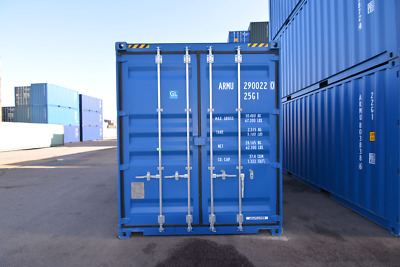 20ft Container Essex (NEW) - Ideal for Storage - Available in Green or Blue
