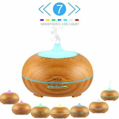 OUTAD Essential Oil Diffuser 300ml Ultrasonic Aroma Diffuser Humidifier 7 LED MY