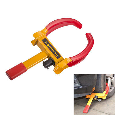 1x Car Lorry Trailer Tyre Wheel Clamps Lock Security Anti Theft Lock Universal