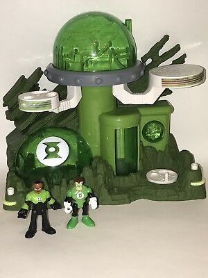 Fisher Price IMAGINEXT DC Super Friends GREEN LANTERN PLANET OA Playset Figures