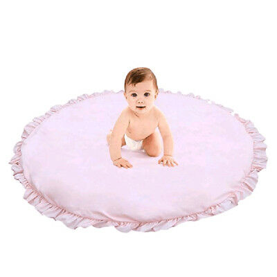 Lace Solid Crawling Mats Baby Game Blanket Children's Room Decoration Carpet