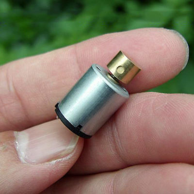 12mm*20mm DC 1.5V~3V Mini Cylindrical Vibration Vibrator Motor DIY Toy Massager