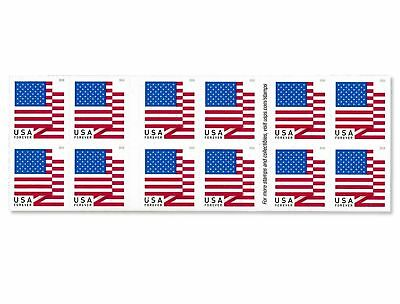 U.S. Flag - 2018 USPS Forever First Class Postage Stamp U.S. Forever 50 Cents...