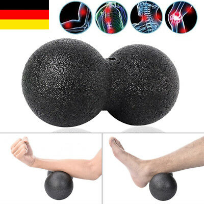 1er-Set Faszien Ball 8 12 cm Rolle Massageball Selbstmassage Massagedoppelball