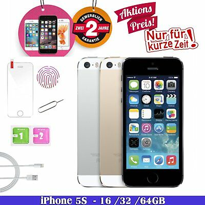 Apple iphone 5S 16GB 32GB 64GB Silber Spacegrau Gold Smartphone - WOW! Aktion!!!
