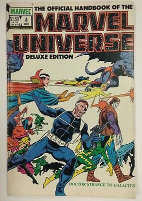 Marvel Universe Deluxe Edition #4 DOCTOR STRANGE TO GALACTUS Ref 138
