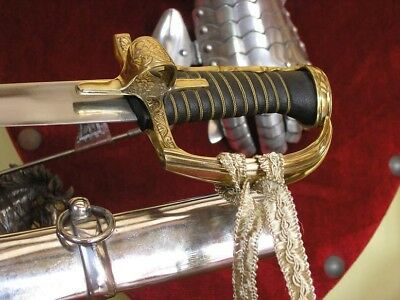 Sabre Hussar With Sheath With A Finger Smooth Circa 1750