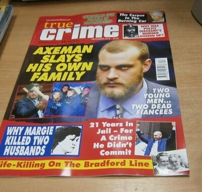 True Crime Detective Monthly magazine DEC 2018 Axeman Slays his Own Family &more