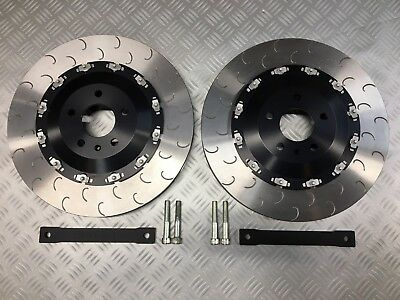 Audi RS4 B8 FRONT two piece floating big 385mm brake disc kit
