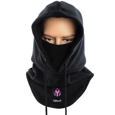Winter Warm Hat Tactical Balaclava Ski Face Mask Windproof Fleece Hood Hat Mask
