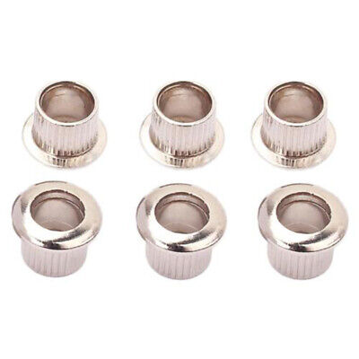 Guitar Tuner Conversion Bushings Adapter Ferrules Nickel Plating FITS 8mm Holes