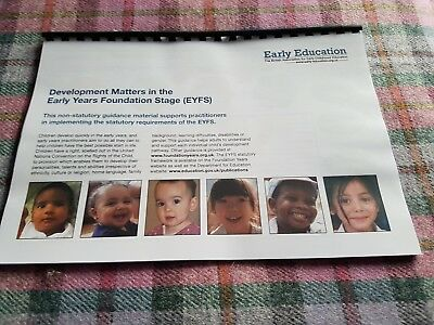 Development Matters in the EYFS full colour laser printed bound copy