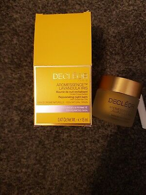 Brand New Boxed Decleor Aromessence Lavandula Iris Night Balm 15 Ml