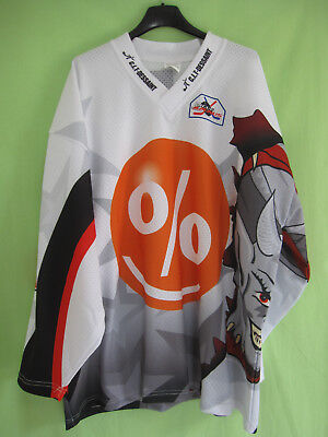 Maillot Hockey Gothiques Amiens #60 Picardie Fernande Jersey Vintage - L