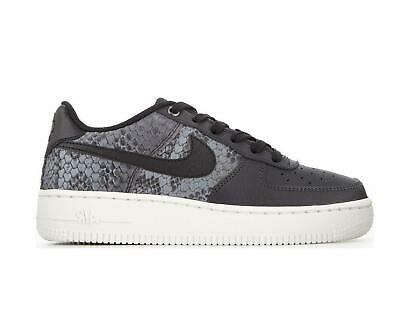 quality design 34f9a 3ef8d Juniors NIKE AIR FORCE 1 LV8 GS Anthracite Trainers 820438 007