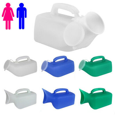 1200/1000ml MALE Female Urinal Bottle Toilet Car/Travel Urinal