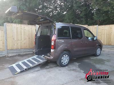 2013 Peugeot Partner Tepee Diesel Wheelchair Disabled Accessible Vehicle