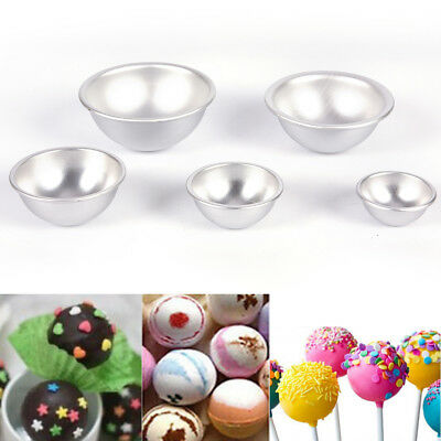 Half Ball Sphere Silicone Cake Mold Muffin Chocolate Cookie Baking Mould Pan RU