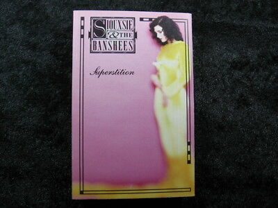 1 vintage music cassette SIOUXSIE & THE BANSHEES Superstition