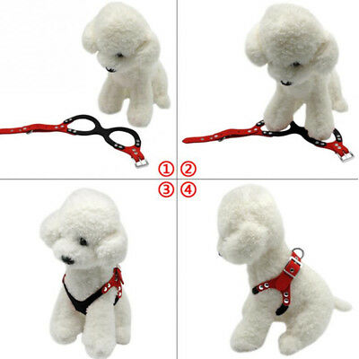 Pet Dog Puppy Adjustable Washed Chiffon Harness Chest Strap Chest Harness LH