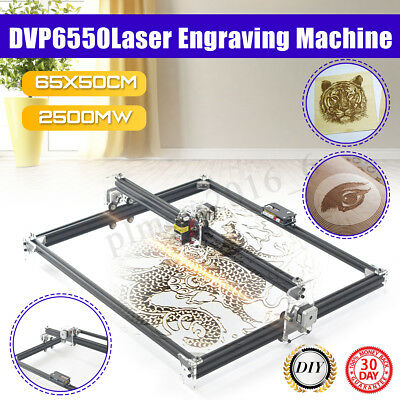 2500mw 65x50cm Laser Engraving Cutting Engraver CNC Carver DIY Printer Machine