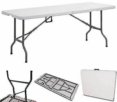 6ft (1.8m) CRAFT TRADE SHOW CARBOOT EXHIBITION WALLPAPER CANTEEN FOLDING TABLE