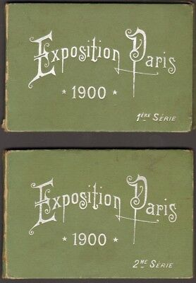 Exposition Universelle 1900. Deux Panoramas. 36 vues