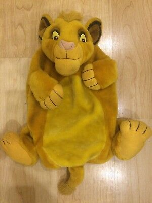 Boots Disney The Lion King Simba Hot Water Bottle Cover Vintage /Rare VGC